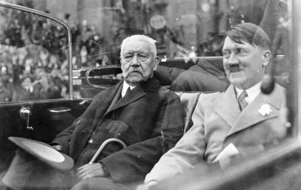 Resultado de imagen de presidente hindenburg